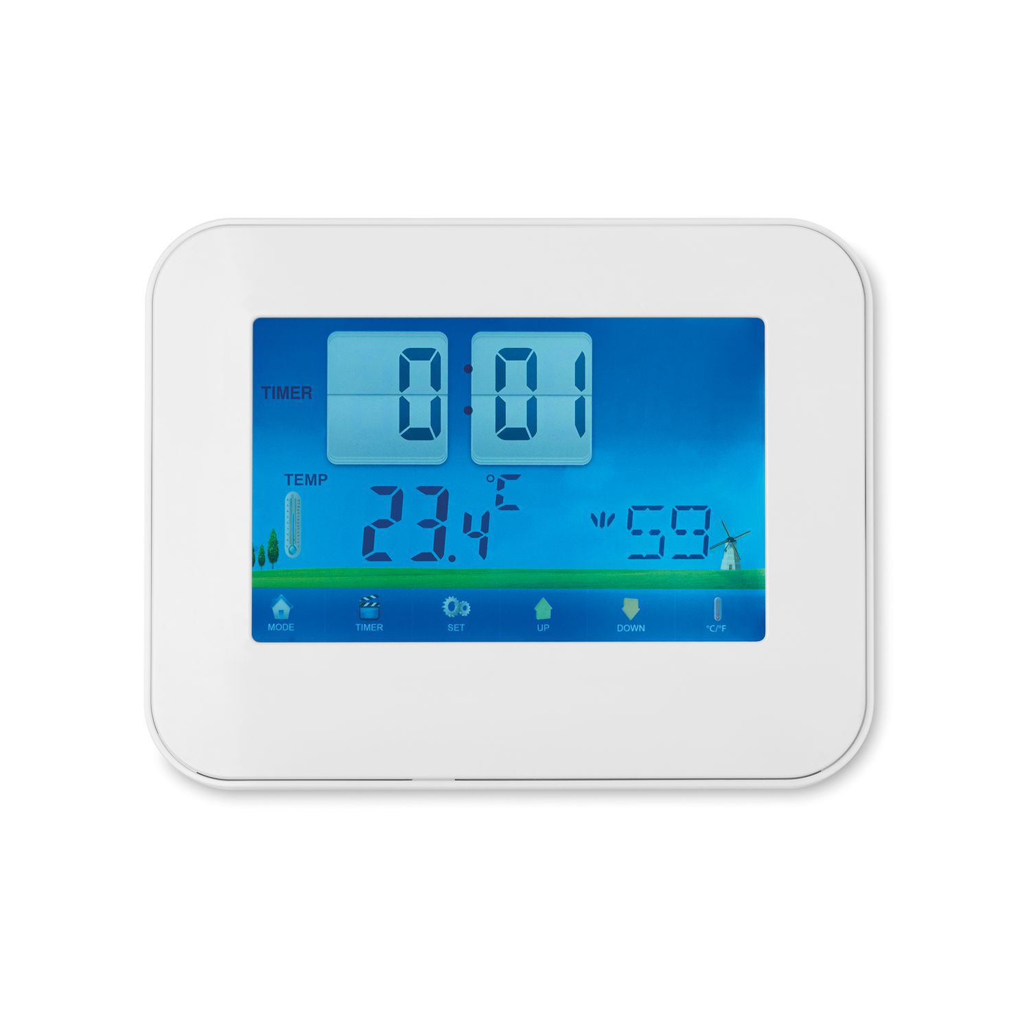 Witte Weerstation | Touchscreen