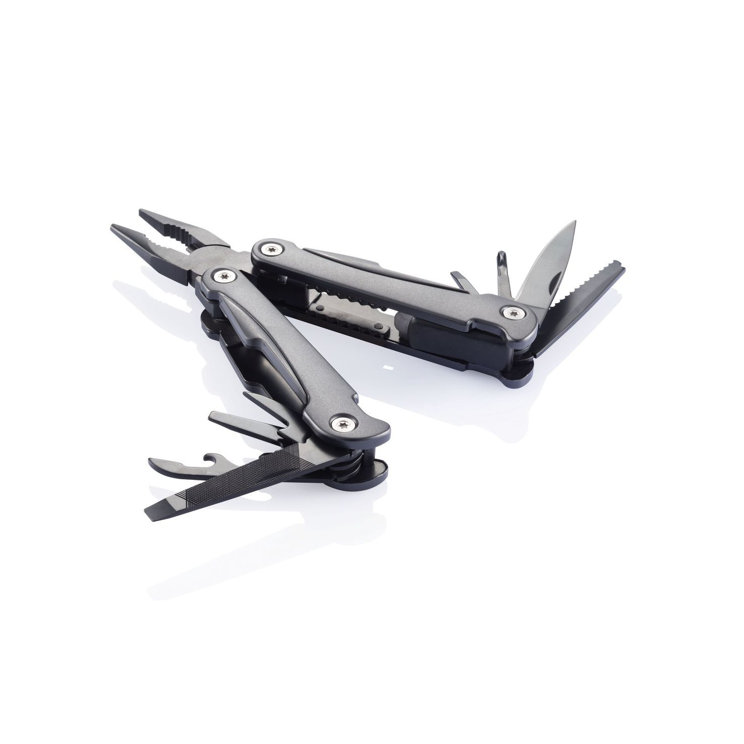 Zwarte Multitool | Swiss Peak