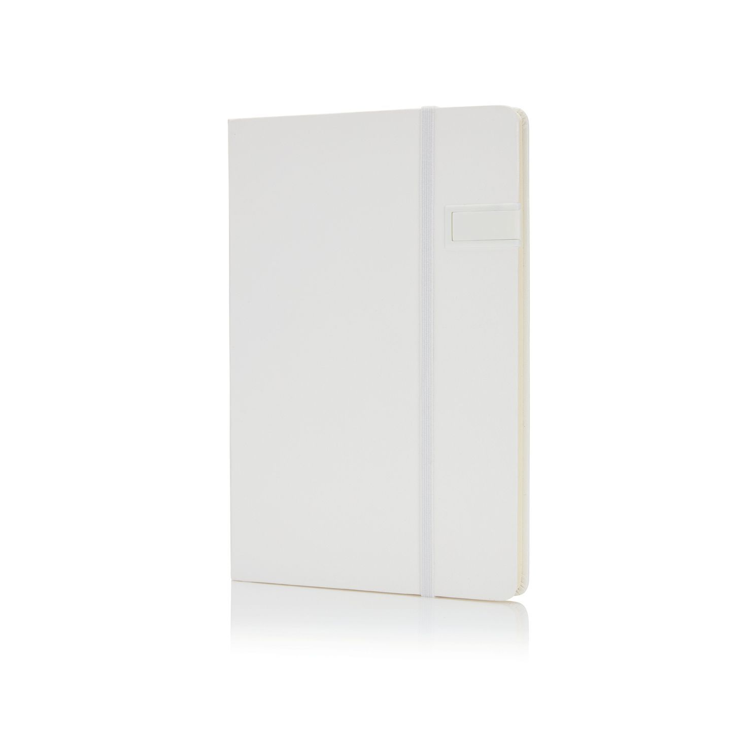 Witte Notitieboek A5 | USB 4GB