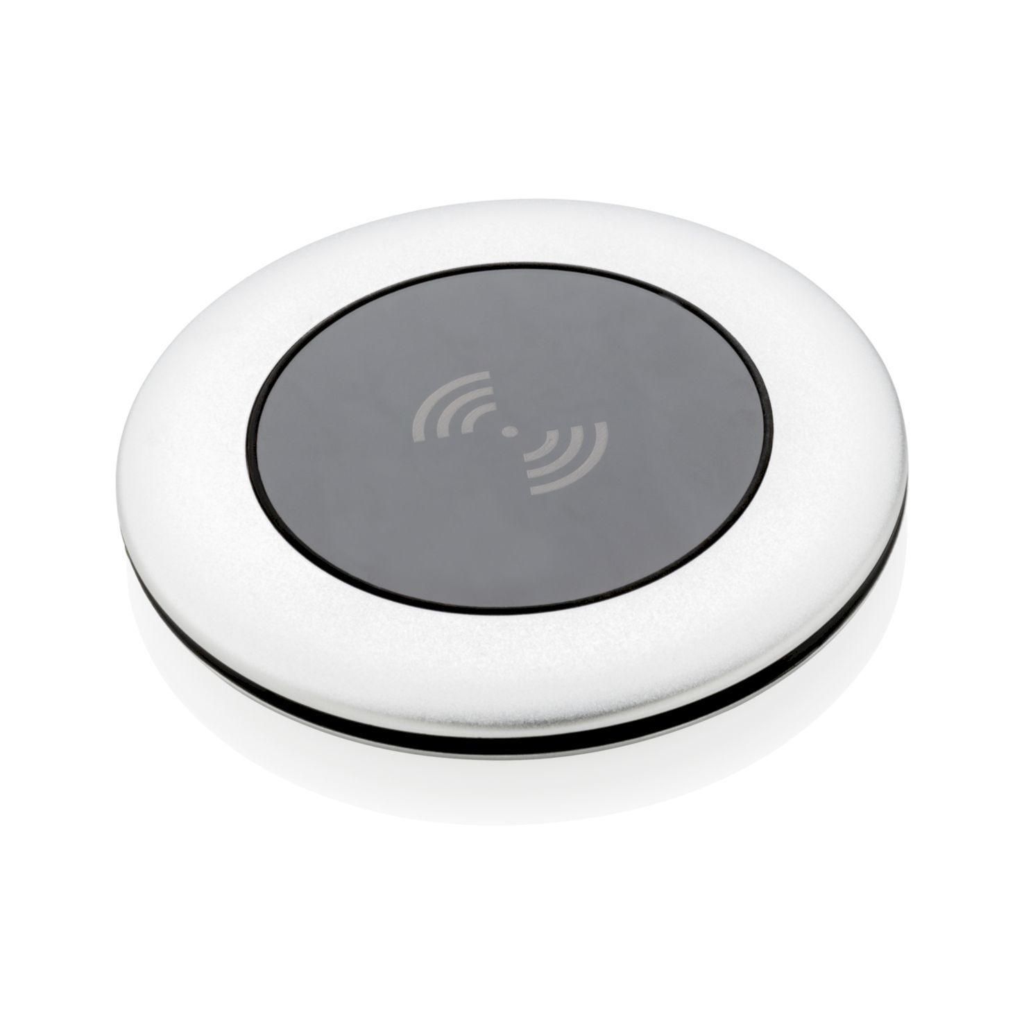 Zilvere Wireless charger | Aluminium