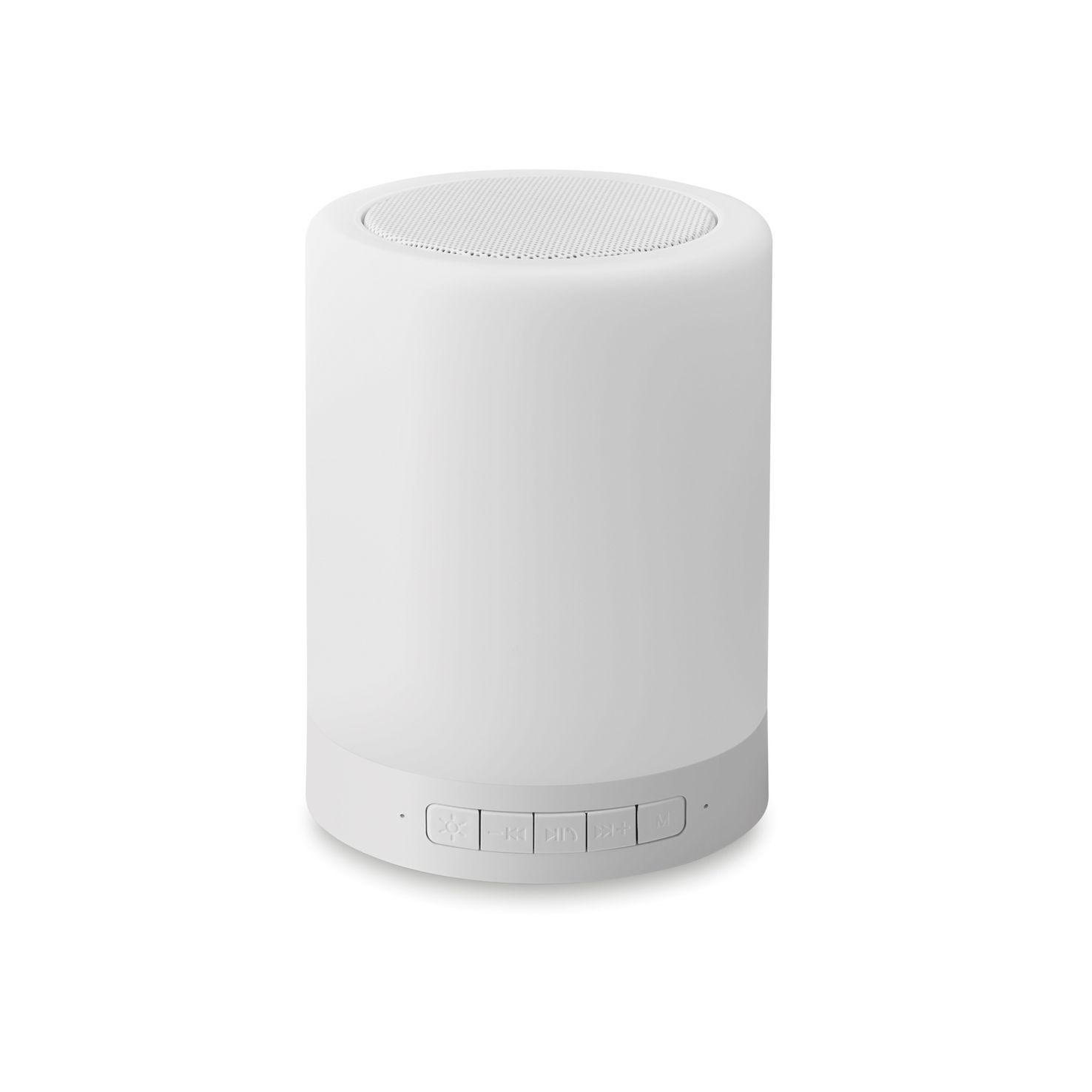Witte Bluetooth speaker | Touch lamp