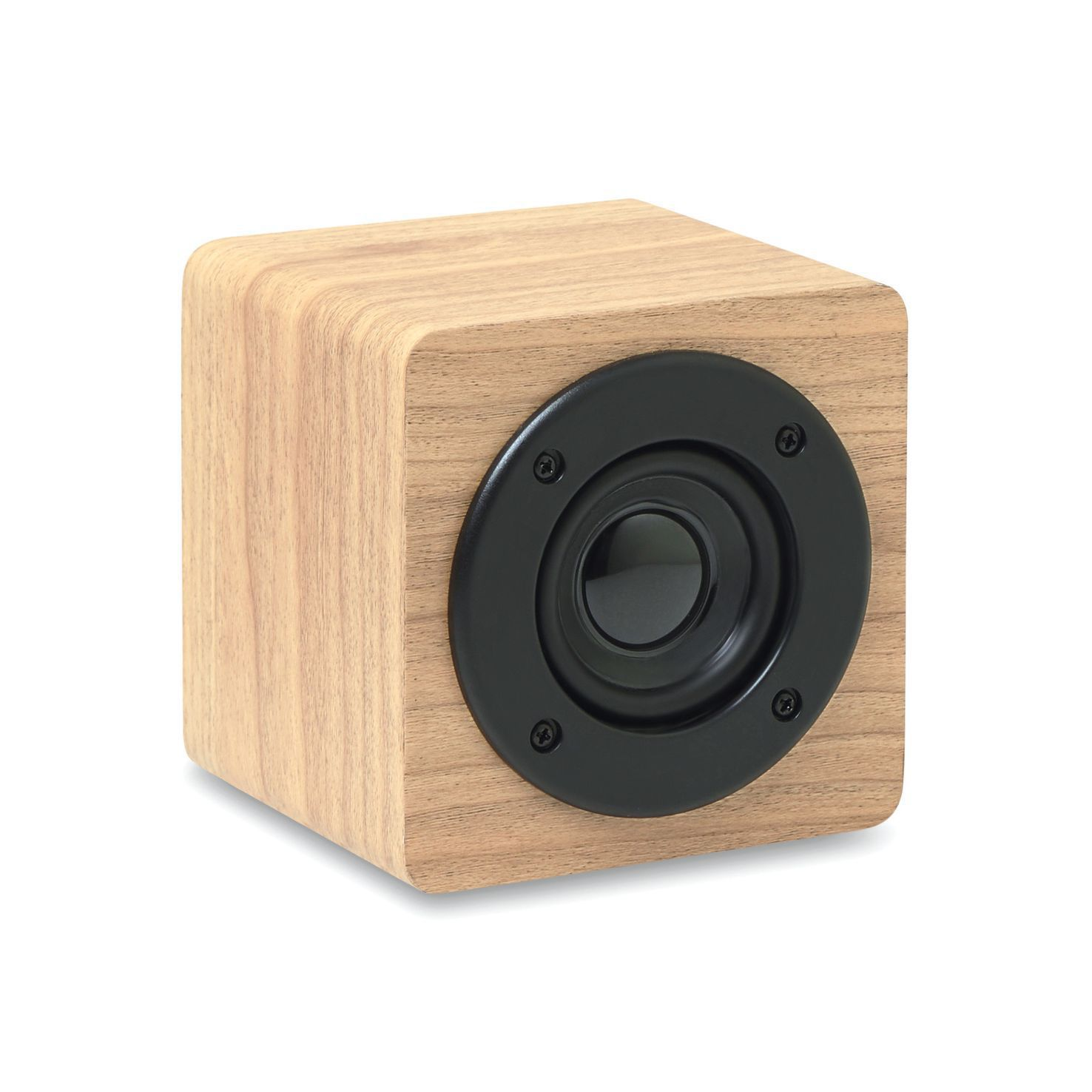 Lichtbruine Bluetooth speaker | Hout | 3 Watt