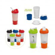 Shaker met compartiment | 500 ml