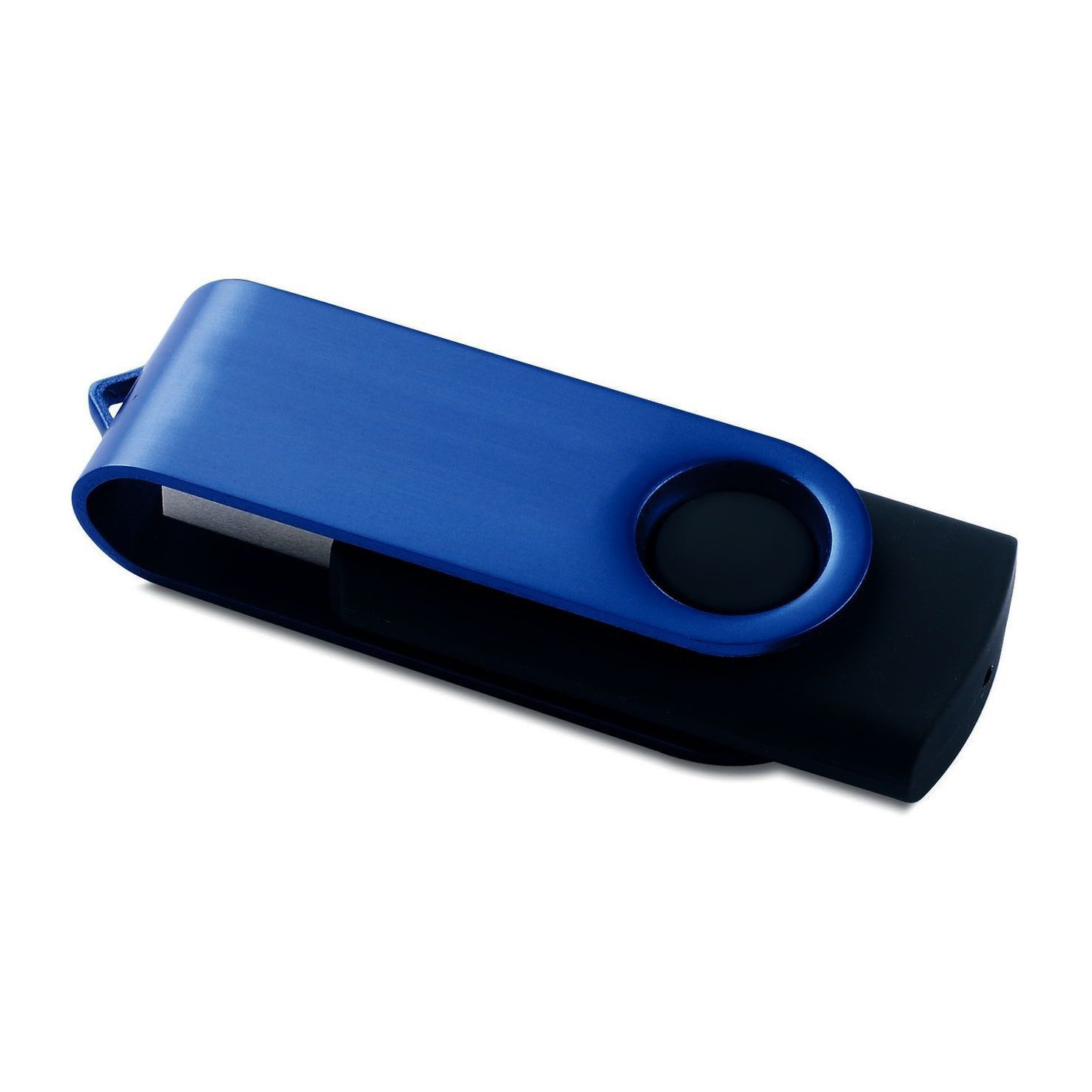 Blauwe Twister USB stick 4GB