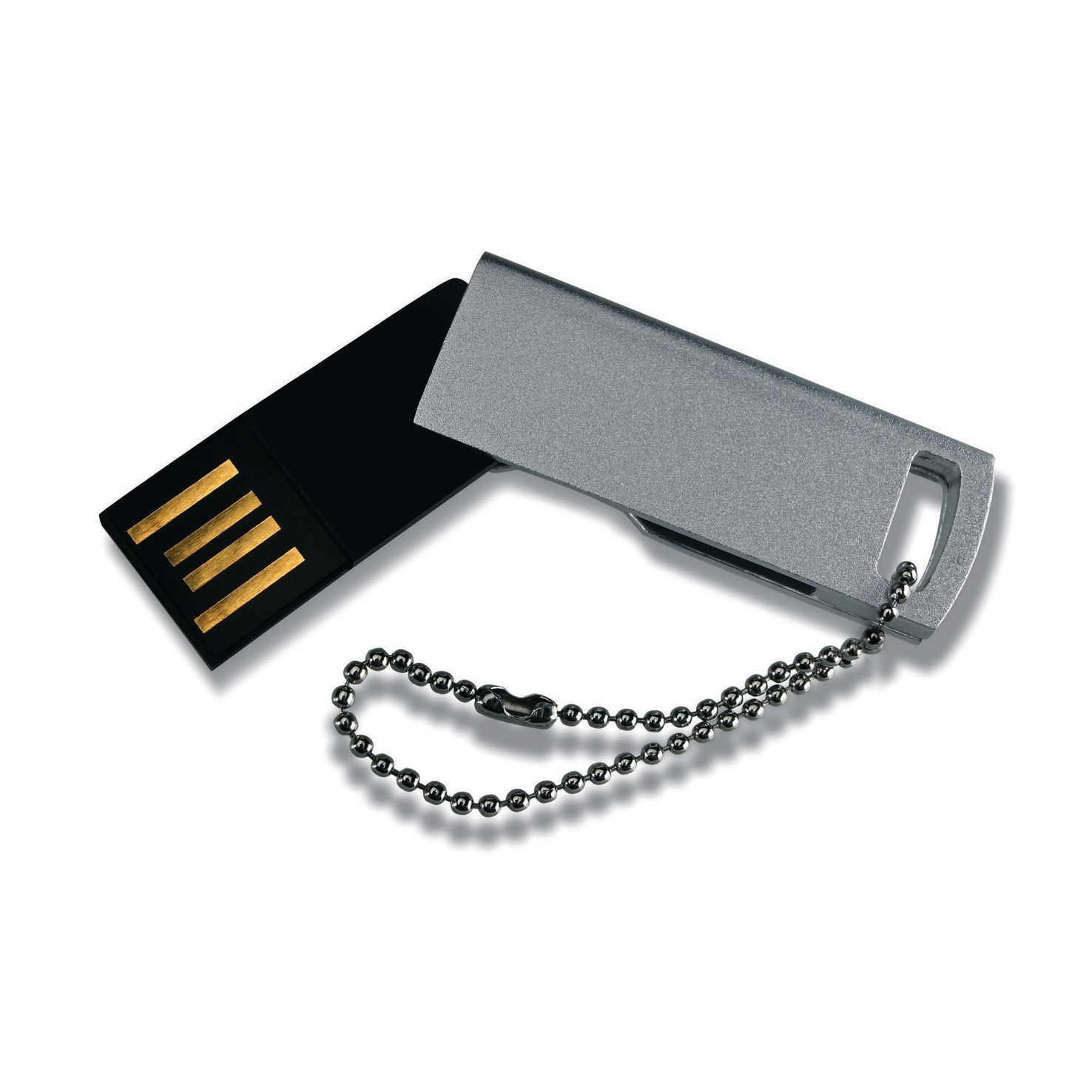 Zilvere USB mini 32GB