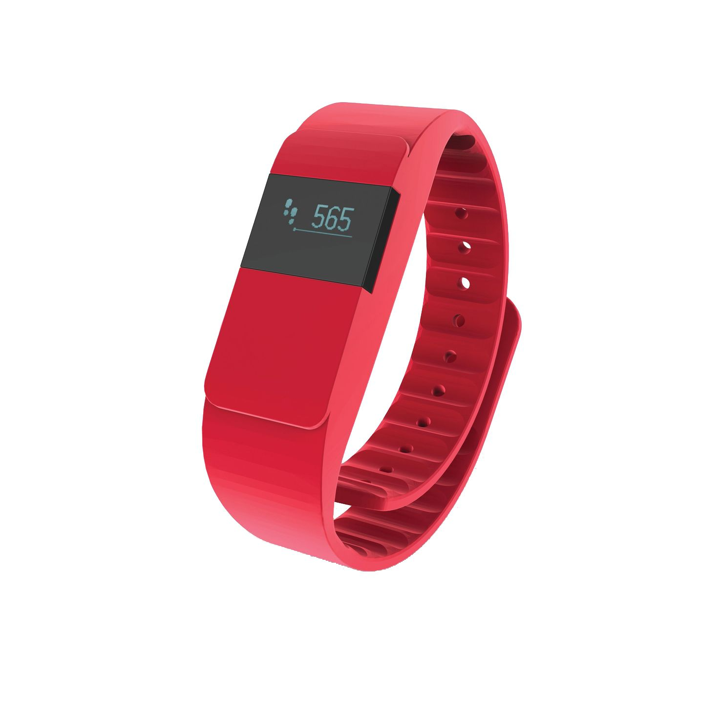 Rode Activity tracker bedrukken