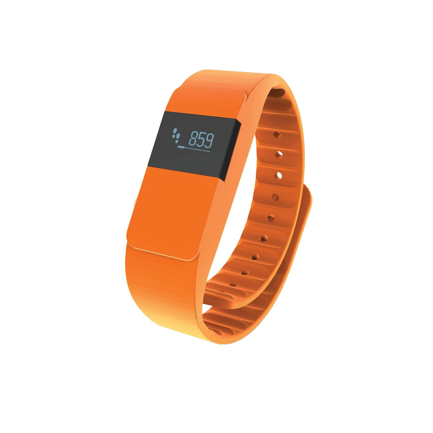 Oranje Activity tracker bedrukken