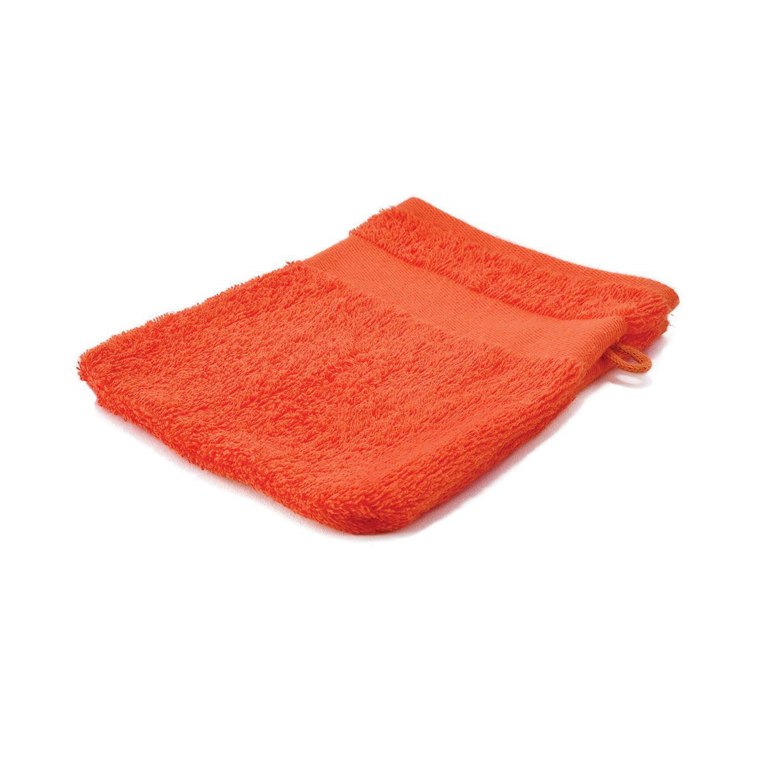 Oranje Washandjes borduren | 450 grams