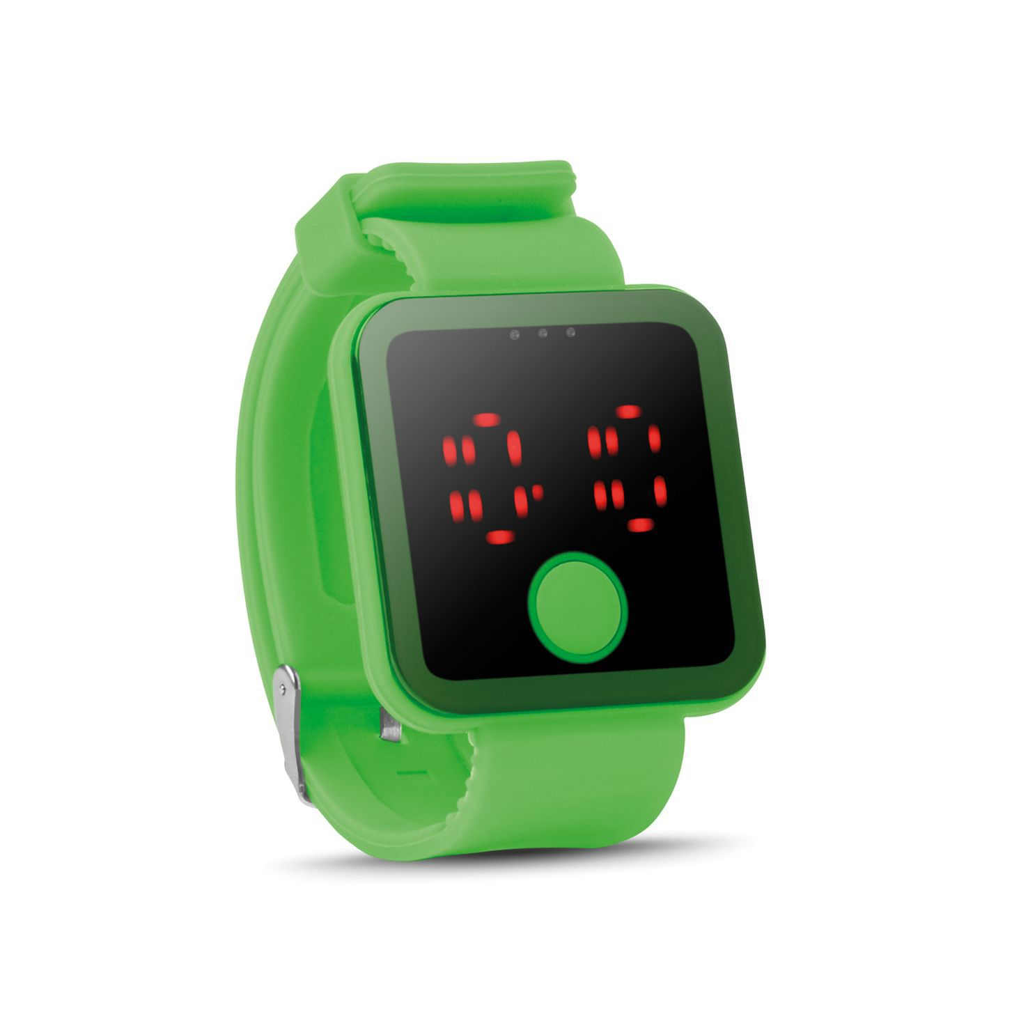 Lime LED horloge | Siliconen