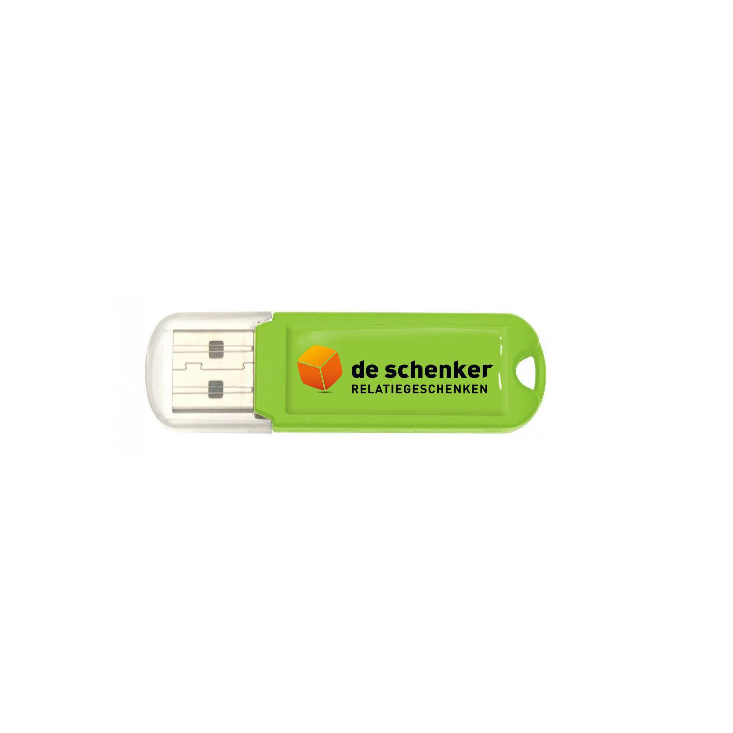 Lime Goedkope USB stick 2GB