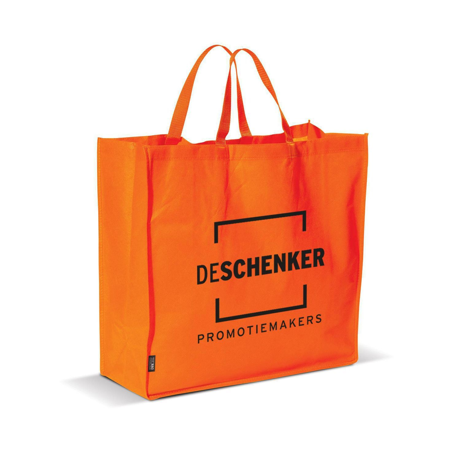 Oranje Big shopper | Non woven | 75 grams