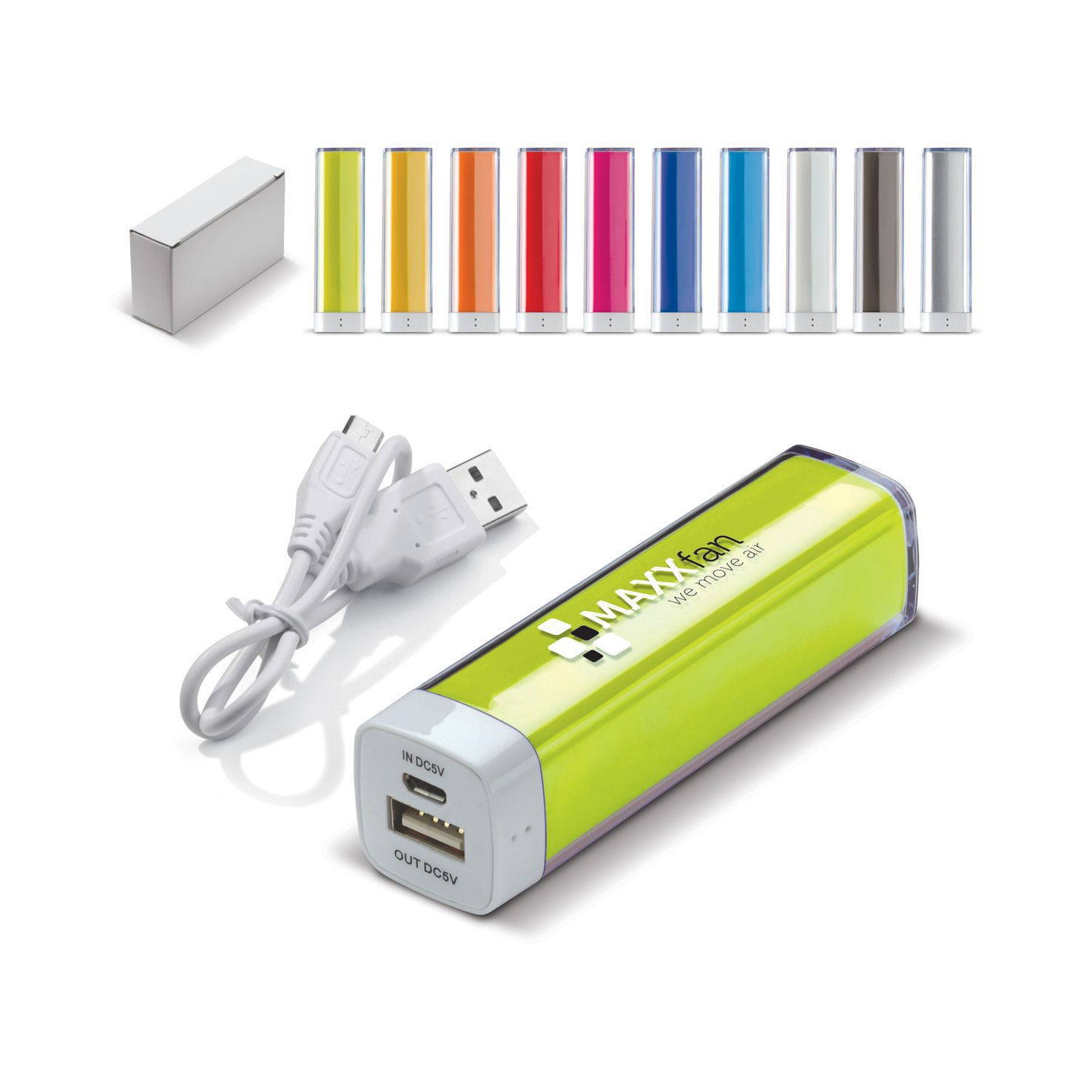 Powerbank | Transparant | 2200 mAh