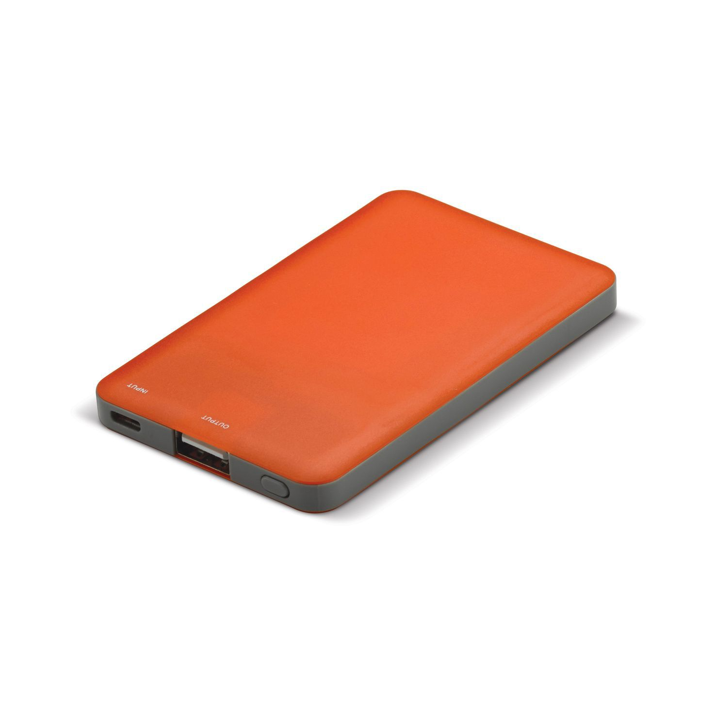 Oranje Powerbank | Led indicatie | 2000 mAh