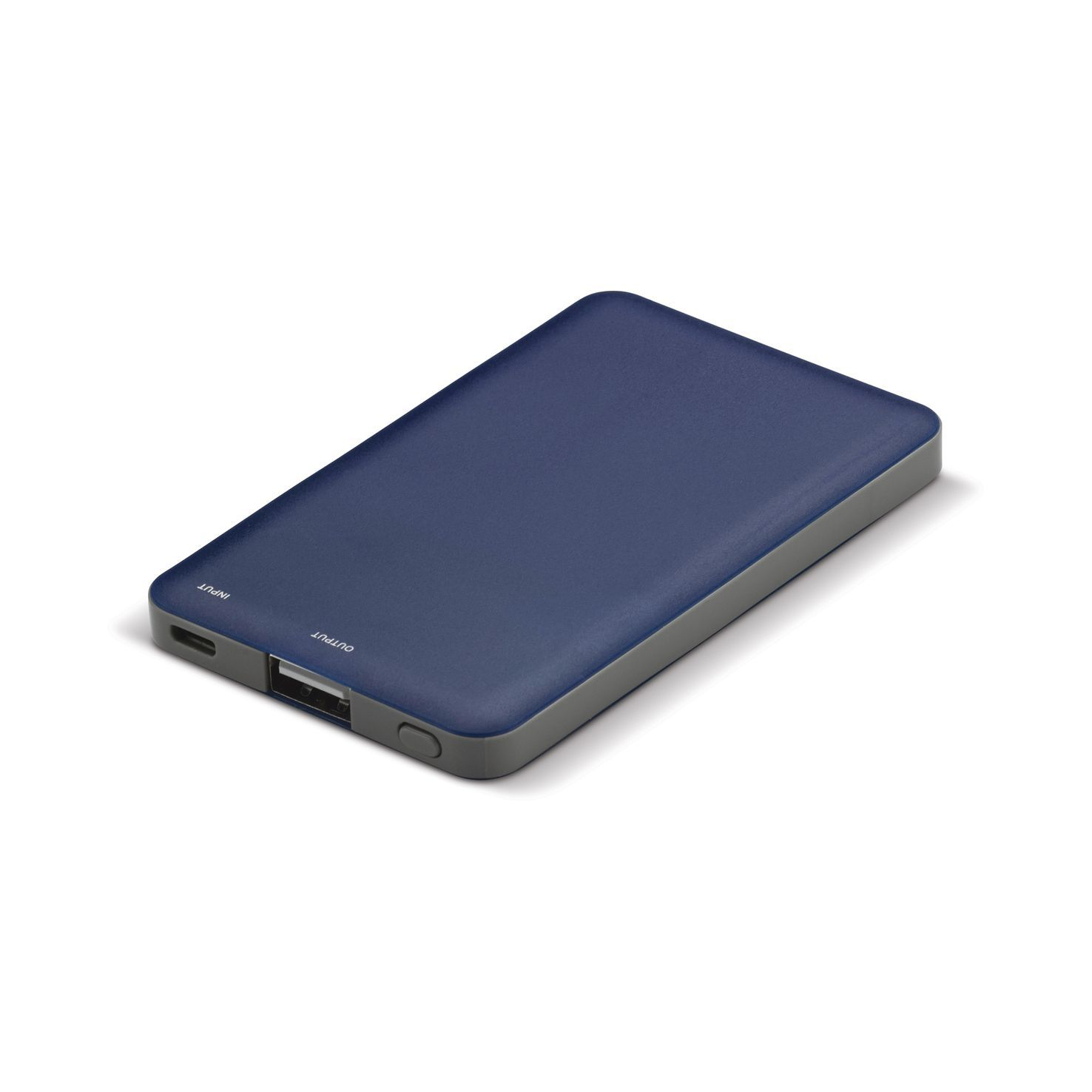 Blauwe Powerbank | Led indicatie | 2000 mAh