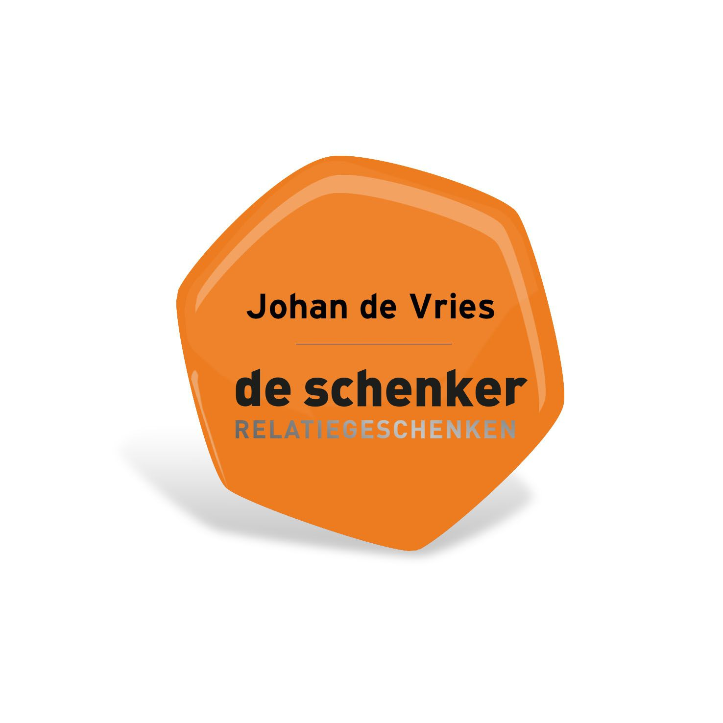 Multicolor Badge met logo