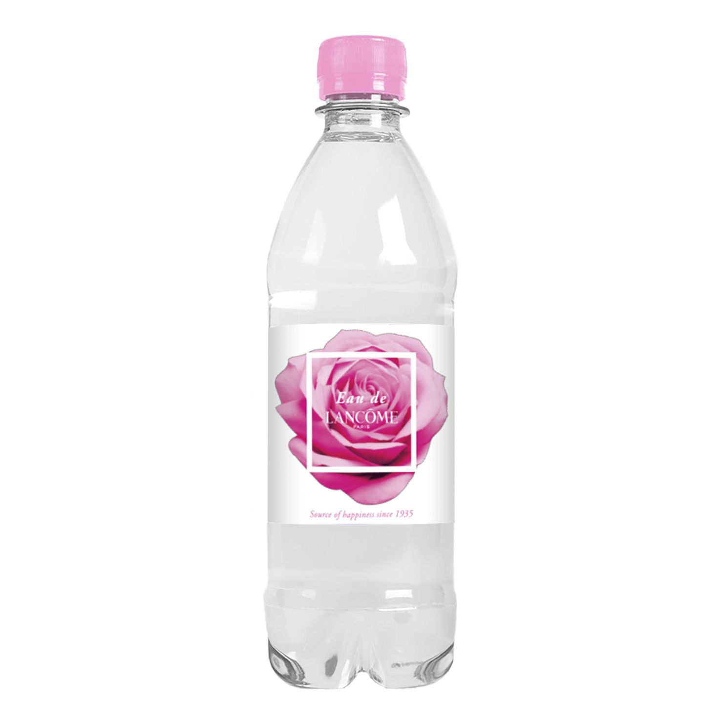 Waterflesjes bedrukken | 500 ml | Platte dop