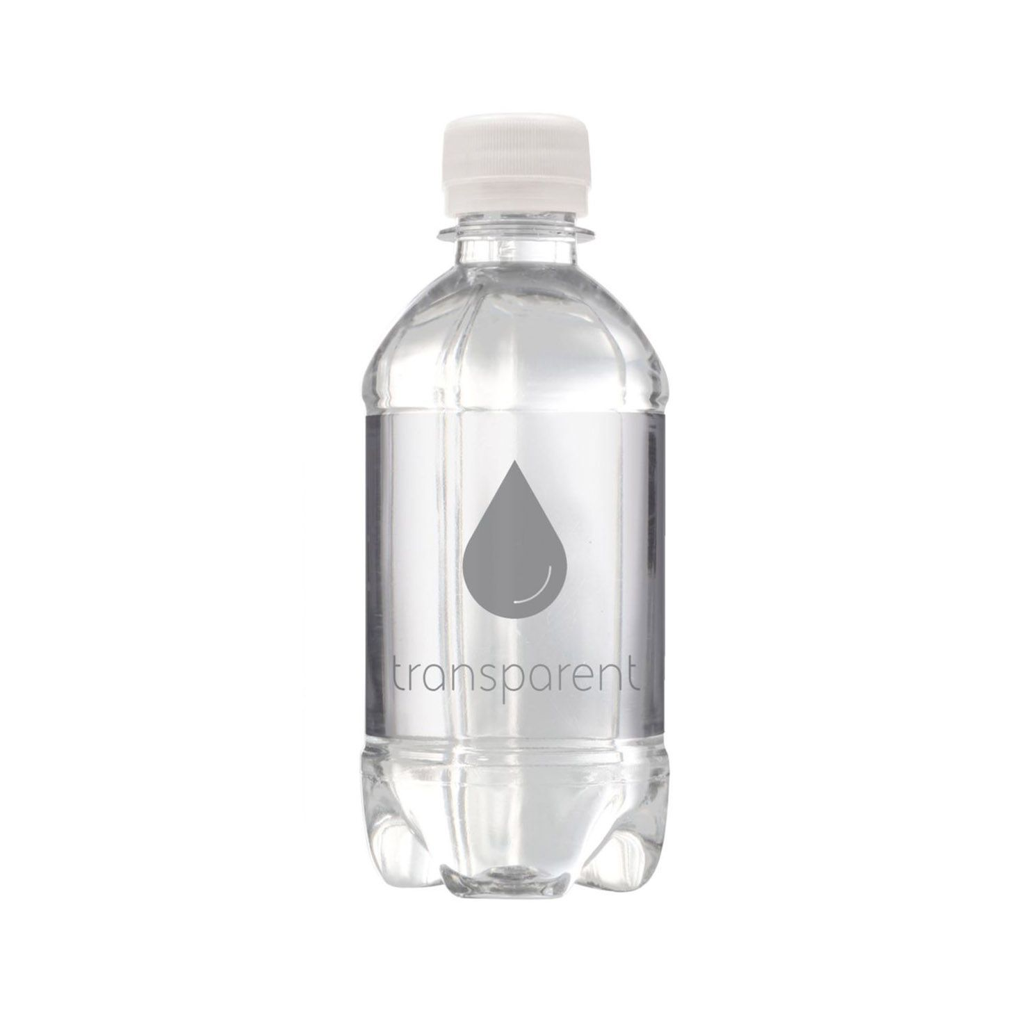 Transparante Bronwater | Bubbels | Platte dop | 330 ml