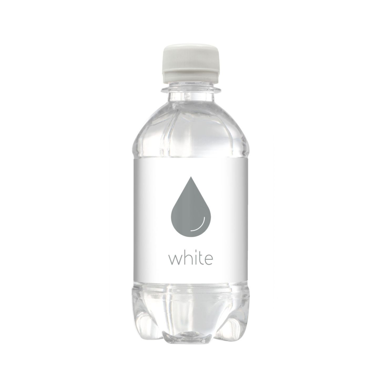 Witte Bronwater | Bubbels | Platte dop | 330 ml