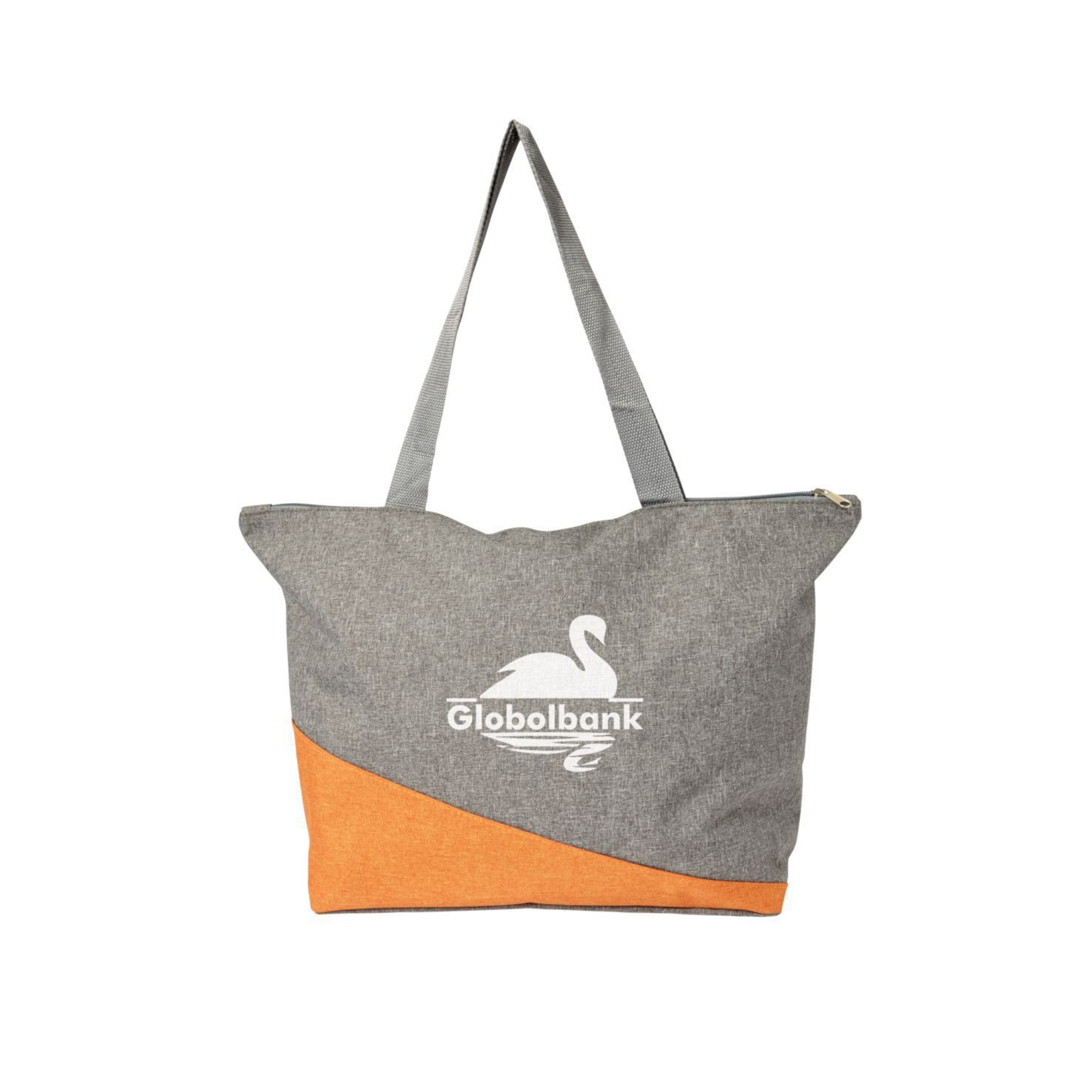 Canvas shopper | Met rits