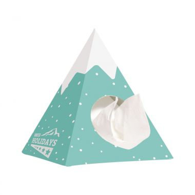 Witte Tissue box | Piramide