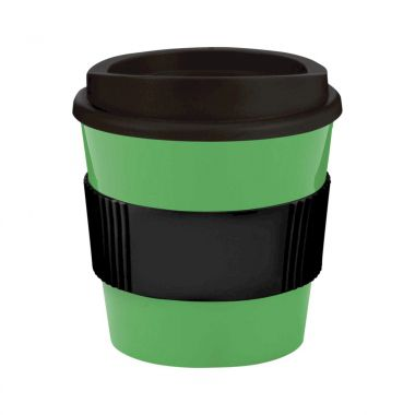 Groen / zwart Coffee to go beker | 250 ml