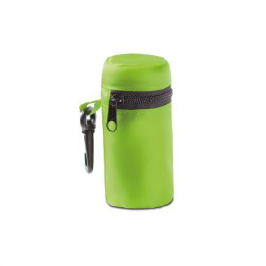 Lime Opvouwbare tas | Met rits | Polyester
