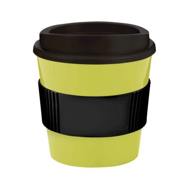 Lime / zwart Coffee to go beker | 250 ml