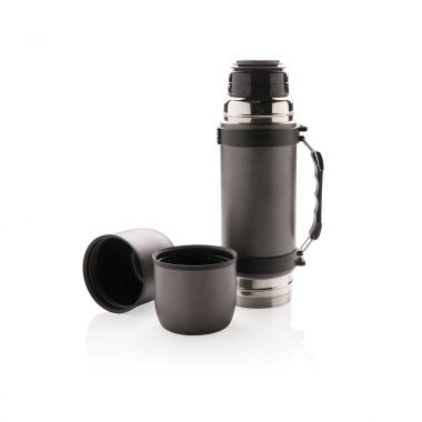 Grijse Luxe thermosfles | 700 ml