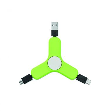 Lime Spinner | USB kabels