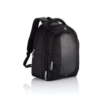 Zwarte Laptop rugtas | Swiss Peak | 14 inch