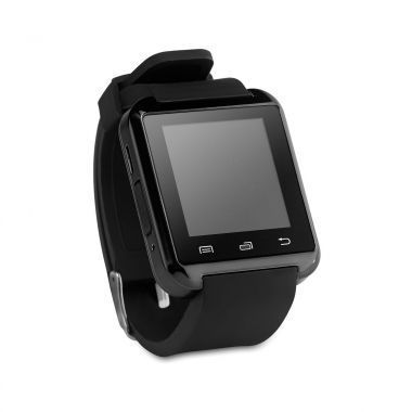 Zwarte Bluetooth smartwatch
