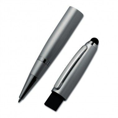 Zilvere USB pen | Touch | 32GB