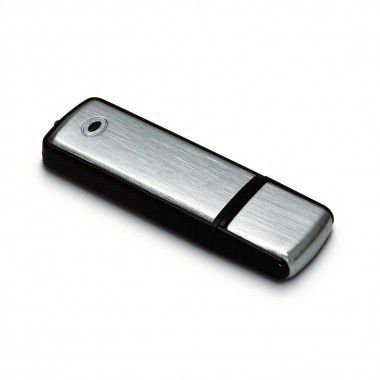 Zwarte USB flash drive 1GB