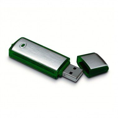 Groene USB flash drive 1GB