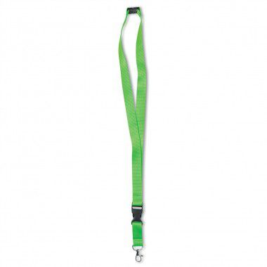 Groene Keycord | Neon | Polyester