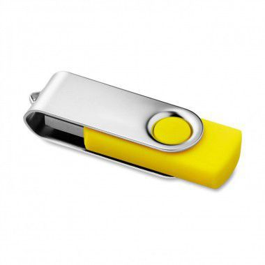 Gele USB stick twister 3.0 8GB