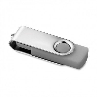 Grijse USB stick twister 3.0 8GB