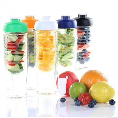 Waterfles met fruitfilter | 700 ml
