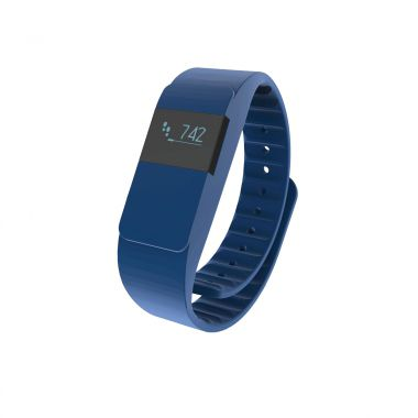 Blauwe Activity tracker bedrukken
