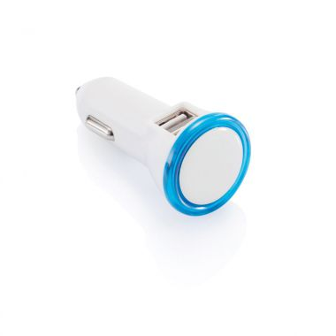 Witte Duo USB autolader