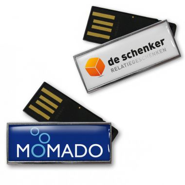 USB stick met logo 4GB