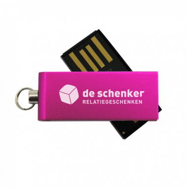 Fuchsia Micro USB stick 8GB