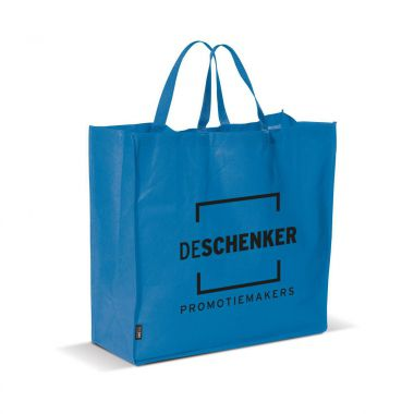 Blauwe Big shopper | Non woven | 75 grams