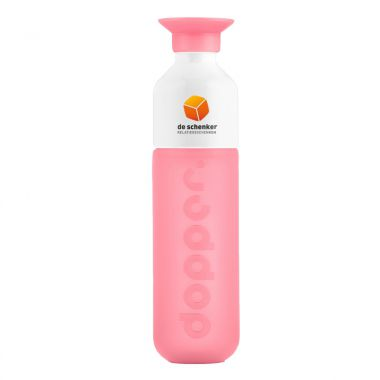 Roze Dopper full color bedrukken