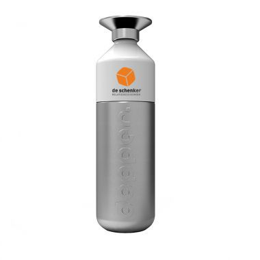 Zilvere Dopper RVS bedrukken | 800 ml