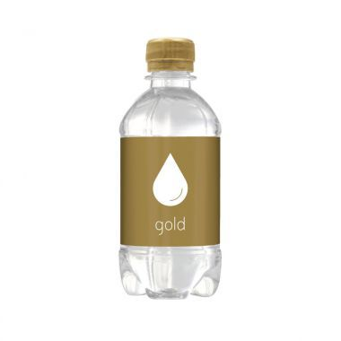 Goude Bronwater | Bubbels | Platte dop | 330 ml