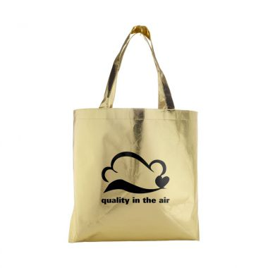 Metallic tas | Non woven | Gelamineerd | 80 grams